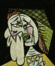 Pablo Picasso / Weeping Woman with Handkerchief / 1937