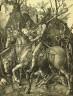Albrecht Dürer / Knight, Death, and the Devil / 1513
