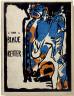 """Wassily Kandinsky / Holzschnitt für den Almanach """"Der blaue Reiter / 1911"""