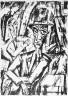 Max Burchartz / Zwei Manner / circa 1919