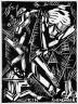 Karl Jakob Hirsch / Der schwarze Turm / circa 1919