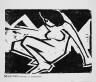 Karl Schmidt-Rottluff / Mädchen / 1911