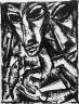 Max Burchartz / (man with fish) / circa 1919