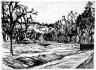 Franz Maria Jansen / Landscape / circa 1918
