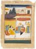 Brindaban, son of Pakamanand / Folio from a Ragamala Album: Sri Raga / 1711