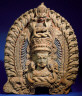 India, Kerala / Dancer's Headpiece Representing the Hindu Goddess Kali / late 15th century