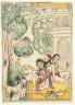 Svarupa Ram / Holy Men with Dogs / circa 1780-1800