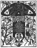 Franz Maria Jansen / Certificate of rejuvenation of the idol's drum / 1921