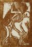 Christian Rohlfs / Death with coffin / circa 1917