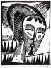Karl Schmidt-Rottluff / Girl from Kaunas / 1918