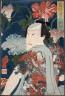 Tsukioka Yoshitoshi / Modern Gallants with Morning Glories / 7/1860