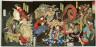 Tsukioka Yoshitoshi / A Competition among Powerful Magicians / 12/1869
