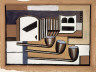 Fernand Léger / Letters and Pipes / circa 1925