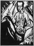 Erich Heckel / Sick girl / 1913