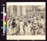William J Glackens / Starving refugees from Santiago congregating at El Caney / 1898?