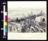 William J Glackens / Scene during embarkation at Port Tampa / 1898