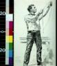 Edward Penfield / Sailor hoisting with line / 1889