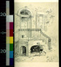 W. A Rogers / Doorway and steps with iron railing / between 1872 and 1931