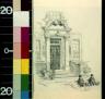 W. A Rogers / A Washington doorway / between 1872 and 1931