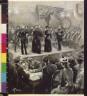 W. T Smedley / A Salvation Army wedding at the barracks on Fourteenth Street / 1891?