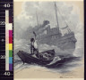 George Edmund Varian / Down went a window in the pilot-house, and a man waved his hand reassuringly / 1915