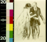 George Hand Wright / Woman with hands on man's arm / between 1900 and 1934