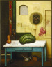 Gregory Gillespie / Still Life With Watermelon / 1986-1987