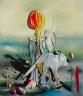 Yves Tanguy / Through Birds, Through Fire and Not Through Glass / 1943