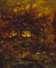 Théodore Rousseau / Autumn at St. Jean de Paris, Forest of Fontainebleau / 1846