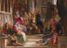 John Frederick Lewis, R.A. / Murillo Painting the Virgin in the Franciscan Convent at Seville / 1838