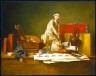 Jean-Baptiste-Simeon Chardin / The Attributes of the Arts / 1766