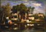 Narcisse Virgilie Diaz de la Pena / Seraglio, Constantinople / 1865 - 1875