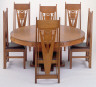 William Gray Purcell / Dining table and chairs / 1910 - 1911