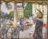 Édouard Vuillard / Place St. Augustin / 1912 - 1913