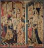 probably Tounai / Queen Esther and King Ahasuerus / 1460 - 1470