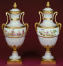 Sévres Factory / Pair of covered vases / about 1780