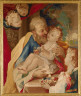 after Giuseppe Chiari / St. Joseph and the Christ Child / about 1715