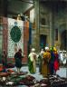 Jean Léon Gérôme / The Carpet Merchant / about 1887