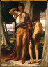 Lord Frederick Leighton / Jonathan's Token to David / about 1868