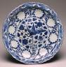 Yuan dynasty / Blue & White Dish / 14th century