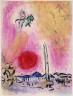 Marc Chagall / La Place de la Concord / 1960