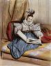 Achille Devéria / Portrait, 9 heures du matin - Mm (Mlle. Annette Boulanger) / about 1830