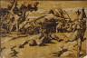 Ugo da Carpi / David and Goliath / 1520 - 1525