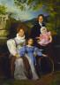 François-Joseph Navez / Portrait of the Gaspard Moeremans Family / 1831 - 1833