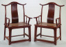 Artist unknown / Pair of official hat chairs / 16th century - 17th century