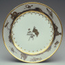attributed to Guérhard et Dihl / Dinner Plate / about 1805