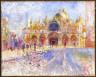 Pierre-Auguste Renoir / The Piazza San Marco, Venice / 1881