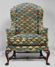 Made by Caleb Gardner / Easy chair / 1758