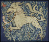 German / Fragment of a Tapestry or Wall Hanging / ca. 1420-1430