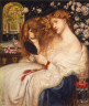 Made by Dante Gabriel Rossetti / Lady Lilith / 1867